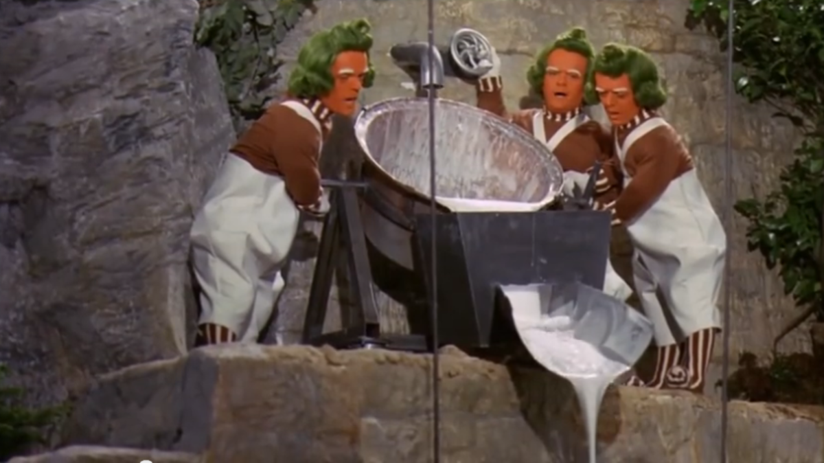 The hardworking Oompa Loompas.