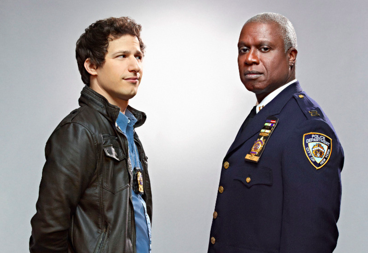 Along with Jake and Amy, Brooklyn Nine-Nine also features Captain Raymond Holt