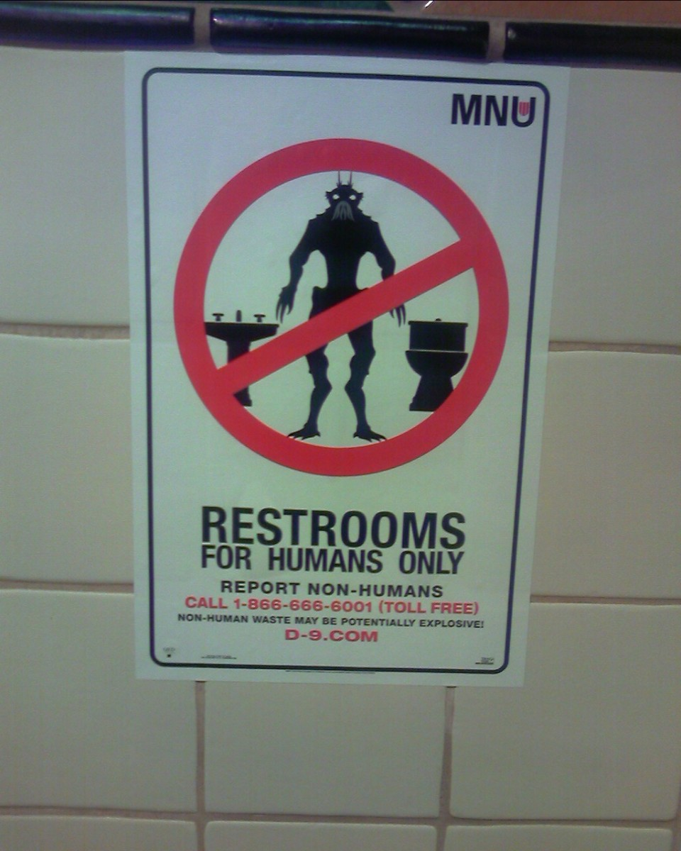 District 9 imposes apartheid on aliens.