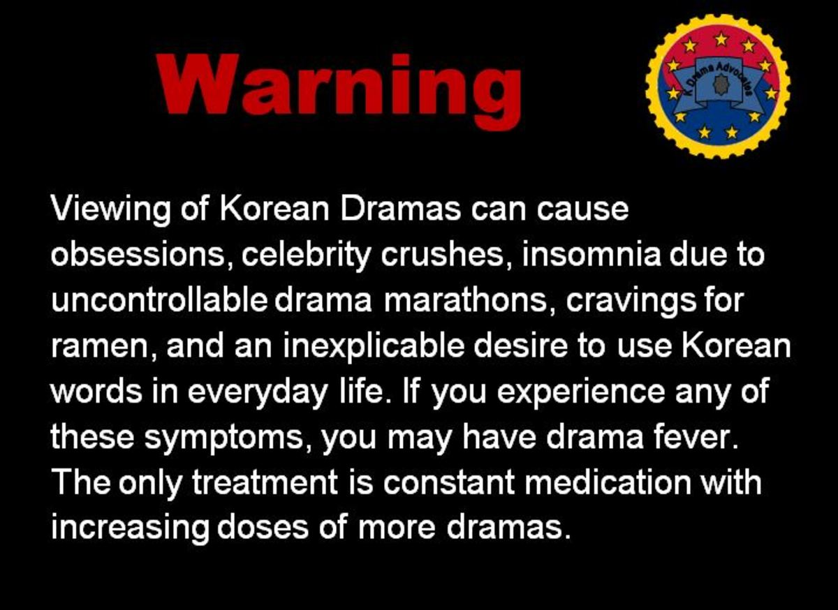 Warning! K-Drama is addictive! Once you start, you won't stop!