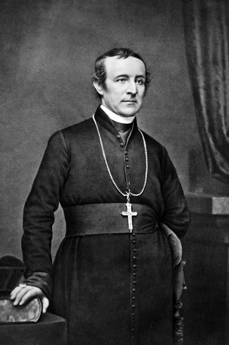 John Hughes Archbishop of New York.