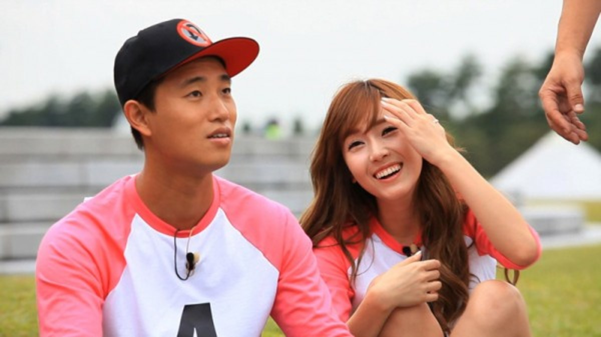 Kang Gary with Jessica, one of the memorable partnerships on the show