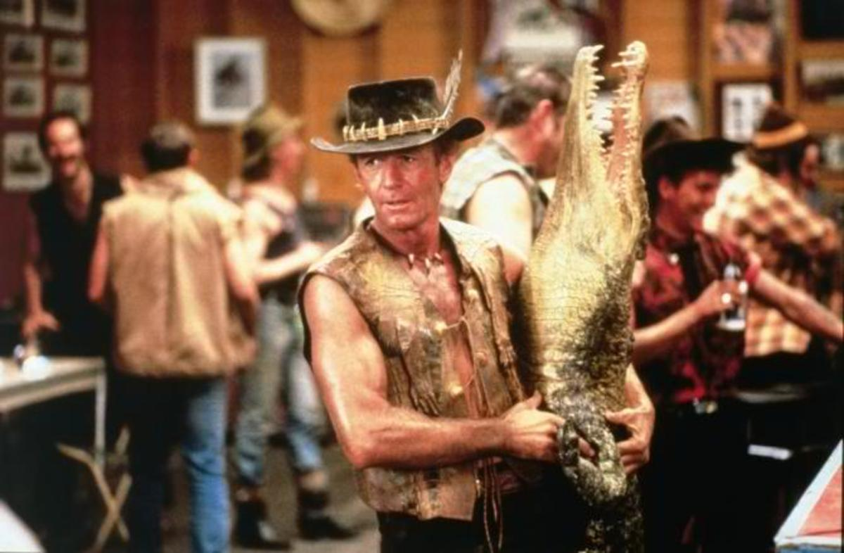 The wonder from down under, Crocodile Dundee grossed $328,203,506 worldwide