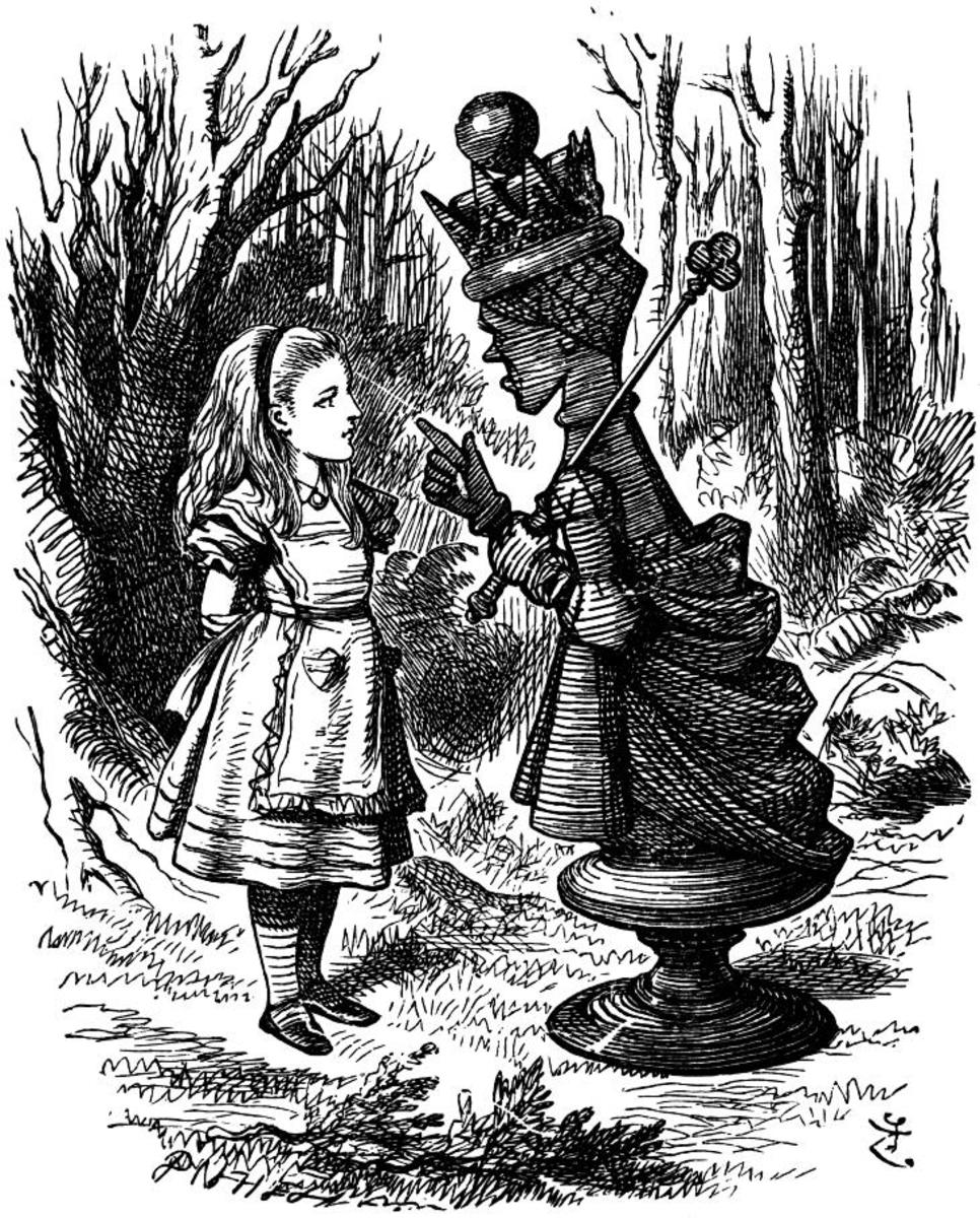 John Tenniel's illustration of the Red Queen