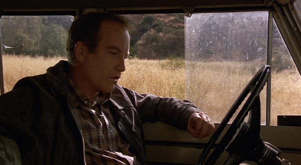 """Wil Wheaton is Child Gordie; Richard Dreyfus is Adult Gordie, credited as """"The Writer."""""""