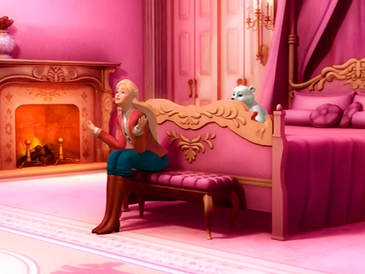 Princess Annika's parents want to protect her from the evil wizard Wenlock, by keeping her in her in bedroom.