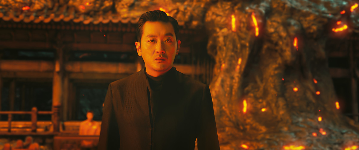 "Ha Jung-woo as Gang-rim in, ""Along with the Gods: The Last 49 Days."""