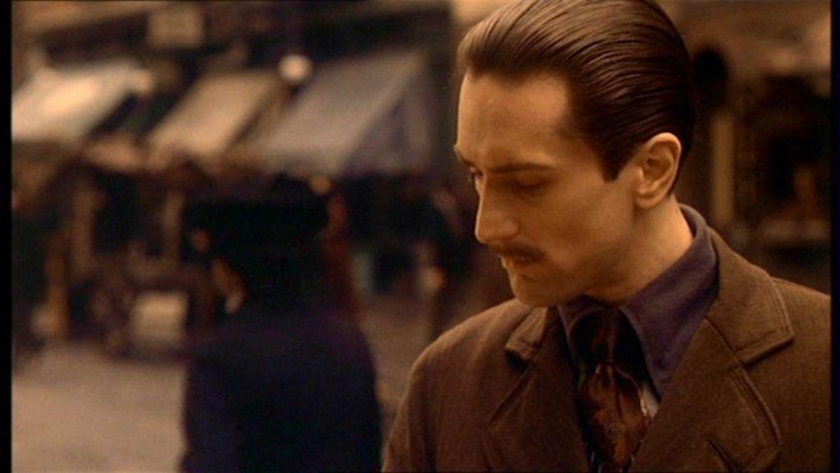 Young Vito Corleone (Robert de Niro) in The Godfather: Part 2
