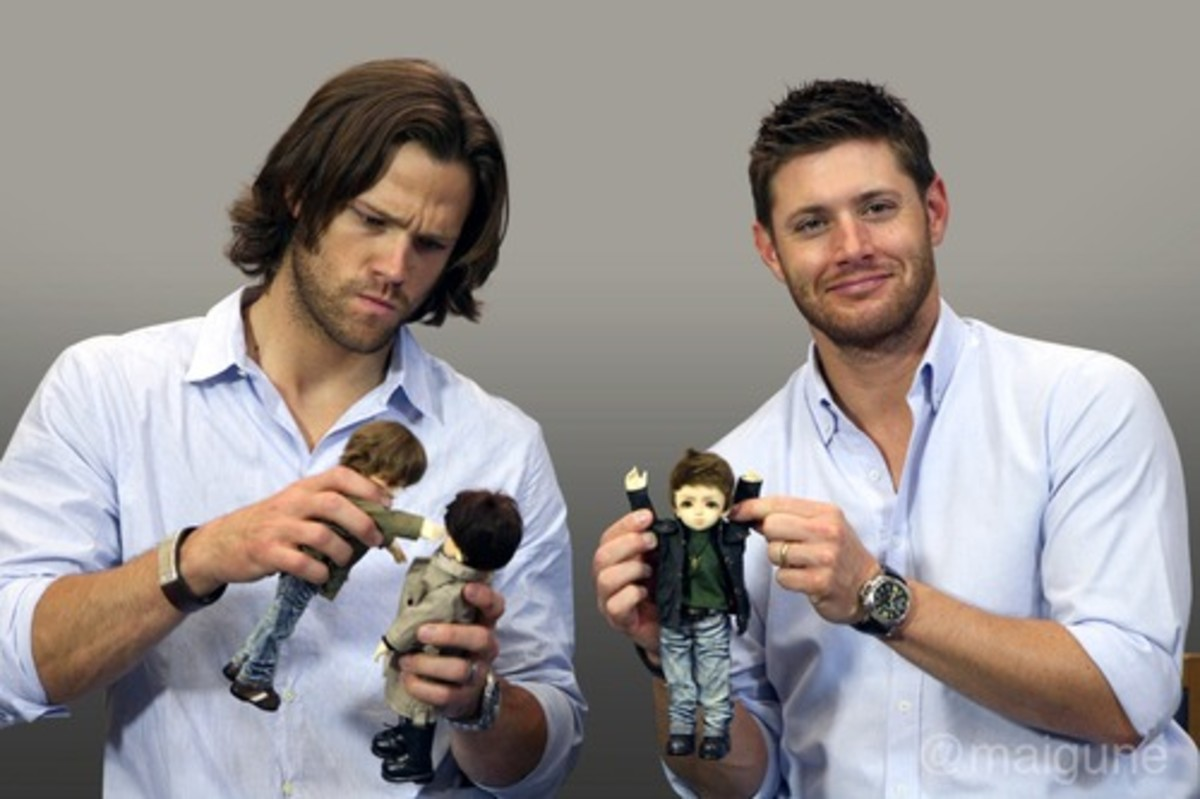 Jared and Jensen Play With Dolls