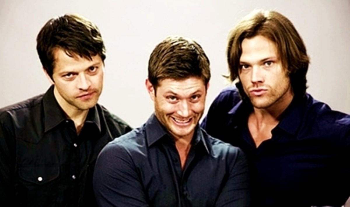 Castiel, Dean, and Sam