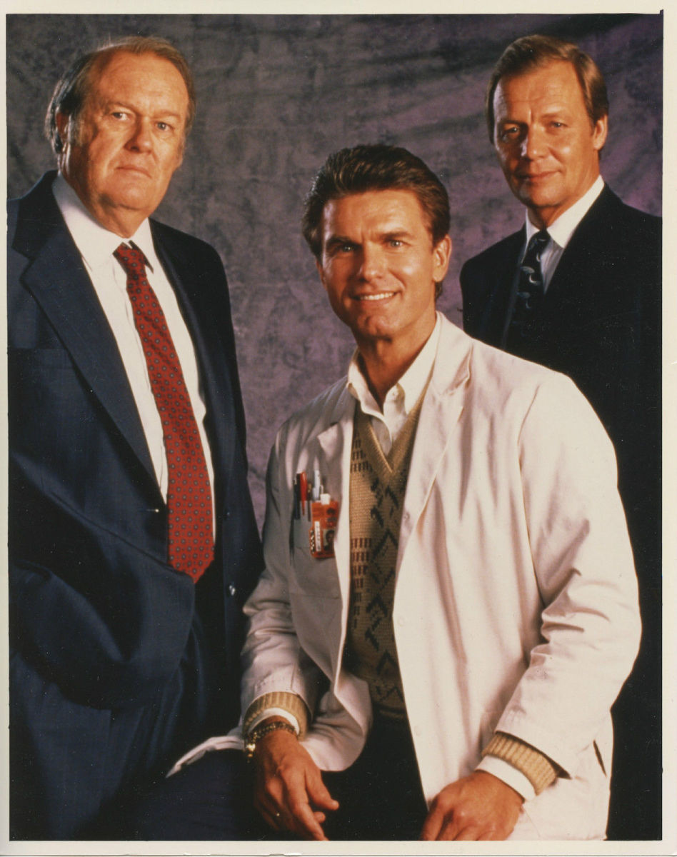 (Left to right) M. Emmett Walsh, Kent McCord and David Soul