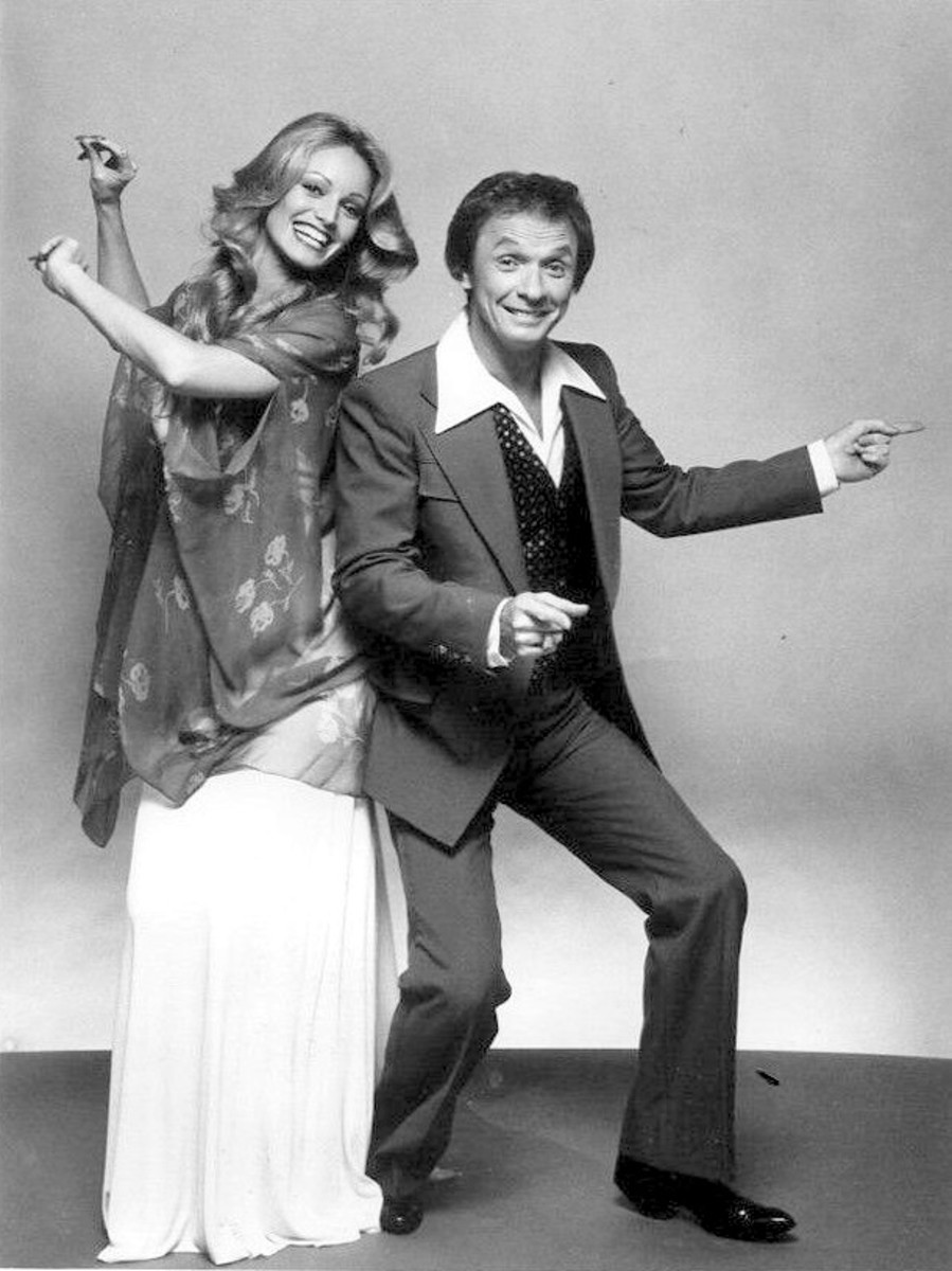 Susan with Mel Tillis in their short lived 1978 variety series.