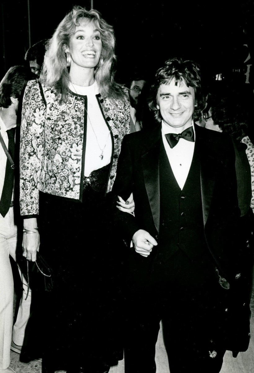 Susan with Dudley Moore.