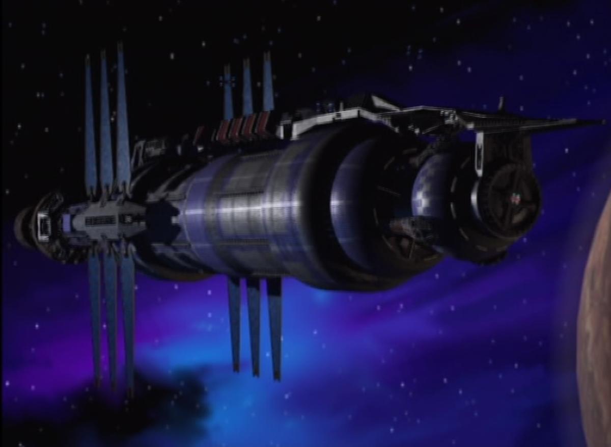 The Babylon 5 Station, courtesy of babylon5.fandom.com