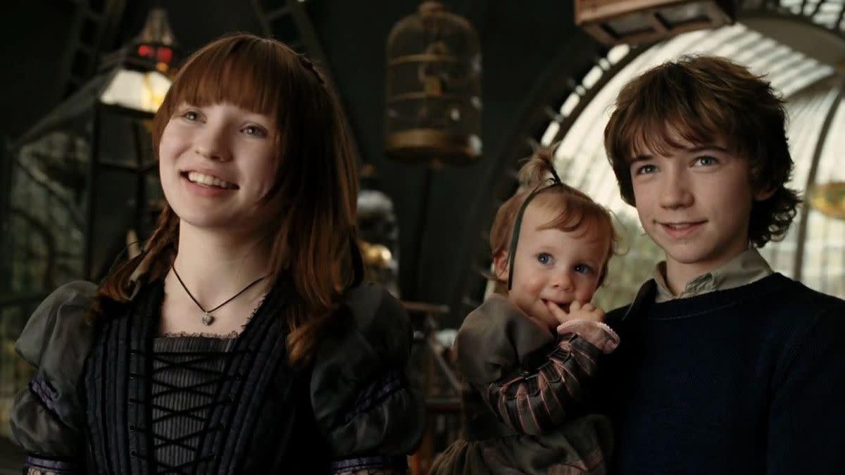 The three Baudelaire children.