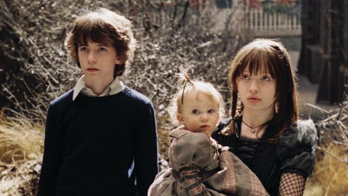 The Baudelaire children.