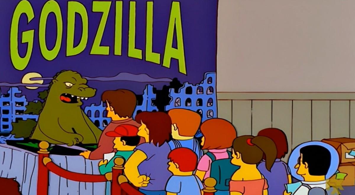 Godzilla's Day Off