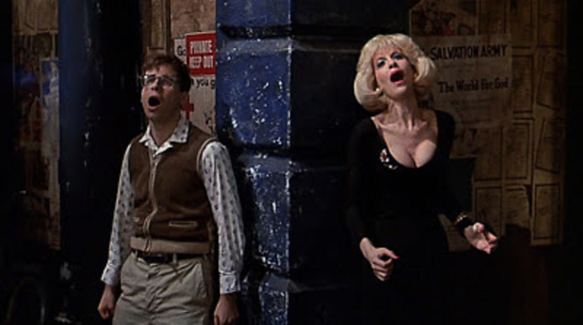 """I gotta get outta Skid Row!!!"""