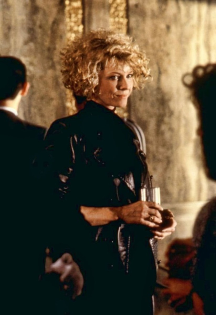 Kate Capshaw is Joyce