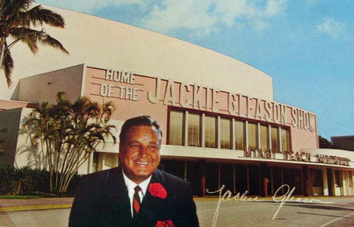 "Reply postcard from the Miami Beach Auditorium in response to ticket requests for ""The Jackie Gleason Show"", 1968"