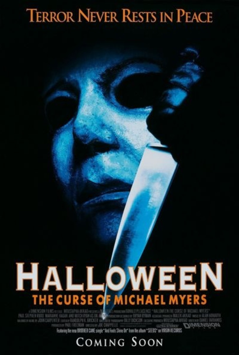 Halloween 6 : The Curse of Michael Myers (1995) was a troubled production which almost killed the Halloween series for good. Yes, it's that bad.