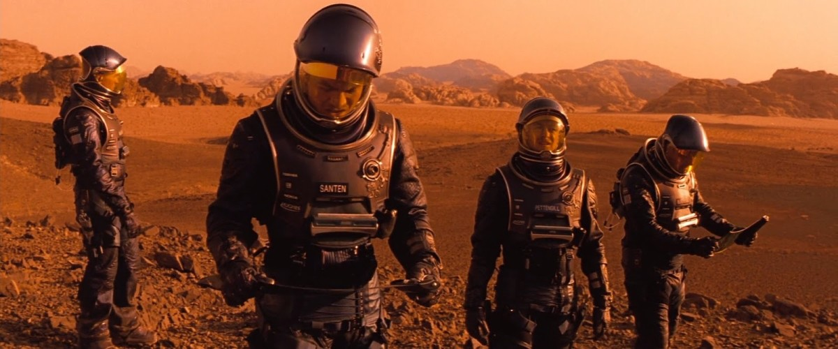 South Australia and Jordan served as backdrop for Mars