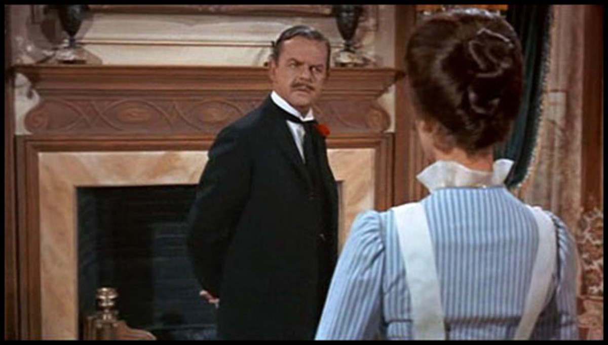 Mr. Banks always looked confused for a reason