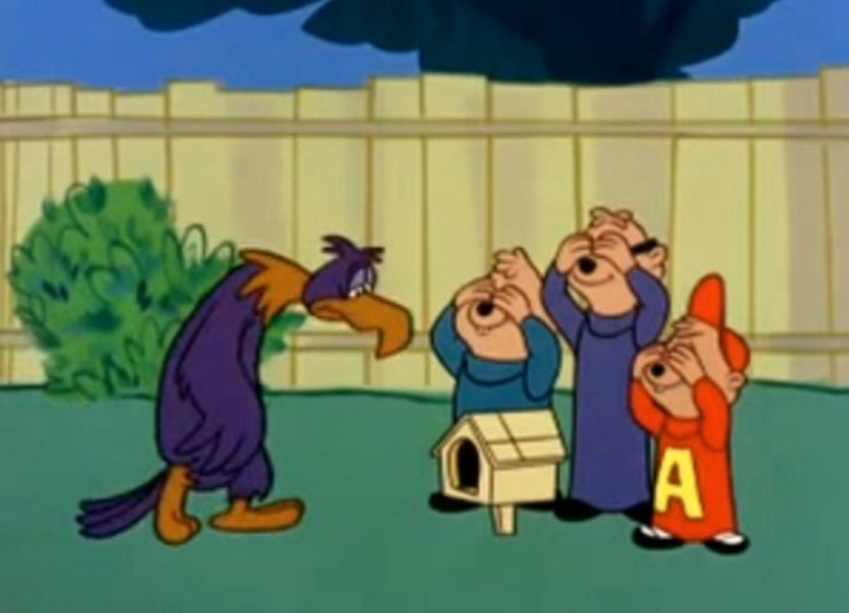 The Chipmunks with Stanley the Eagle