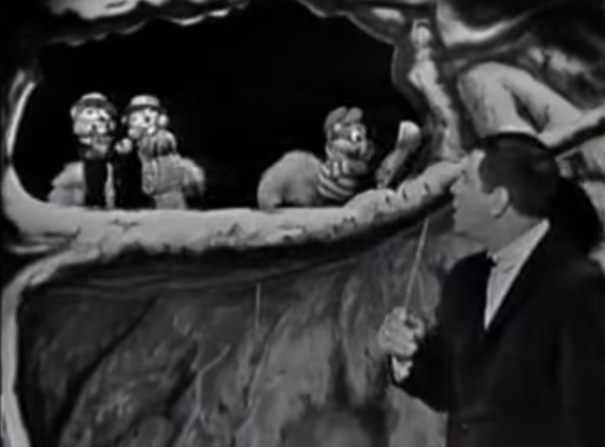 The Chipmunks made their first on-screen appearance as puppets on the Ed Sullivan Show