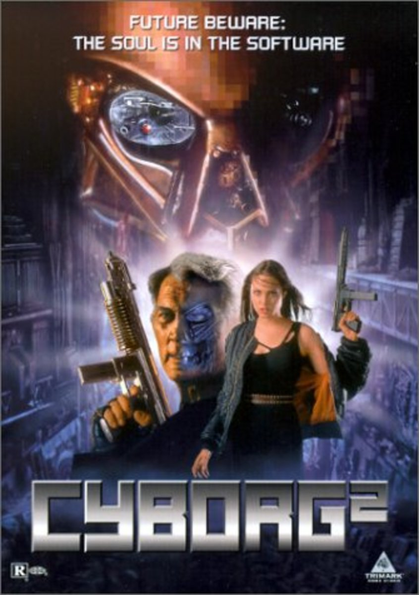 "Great Bad Movies: ""Cyborg 2: Glass Shadow"" (1993)"