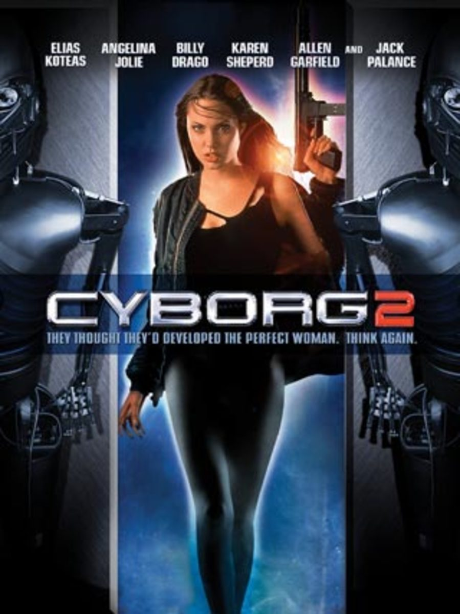 The 2006 DVD release cover puts all the emphasis on Angelina.