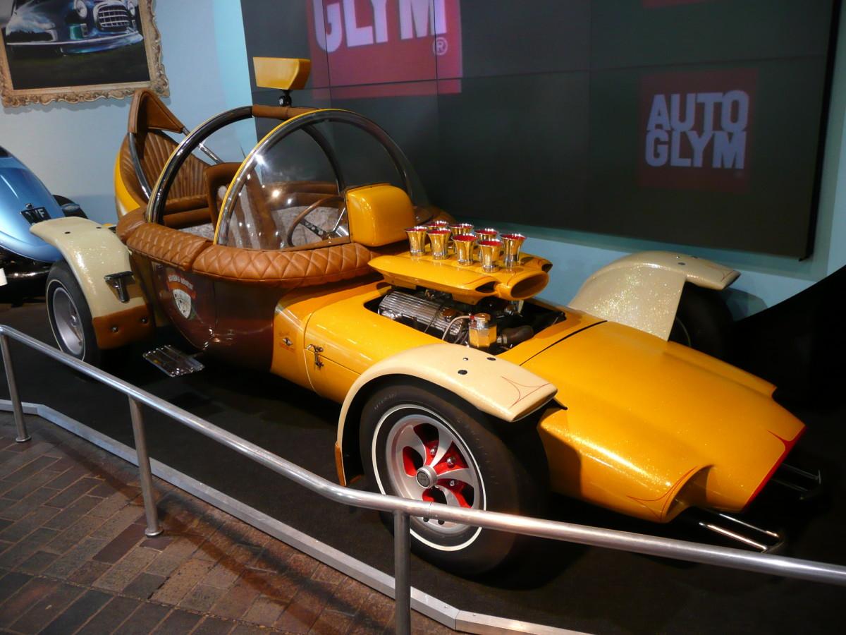 Alvin's Acorn, National Motor Museum in Beaulieu.