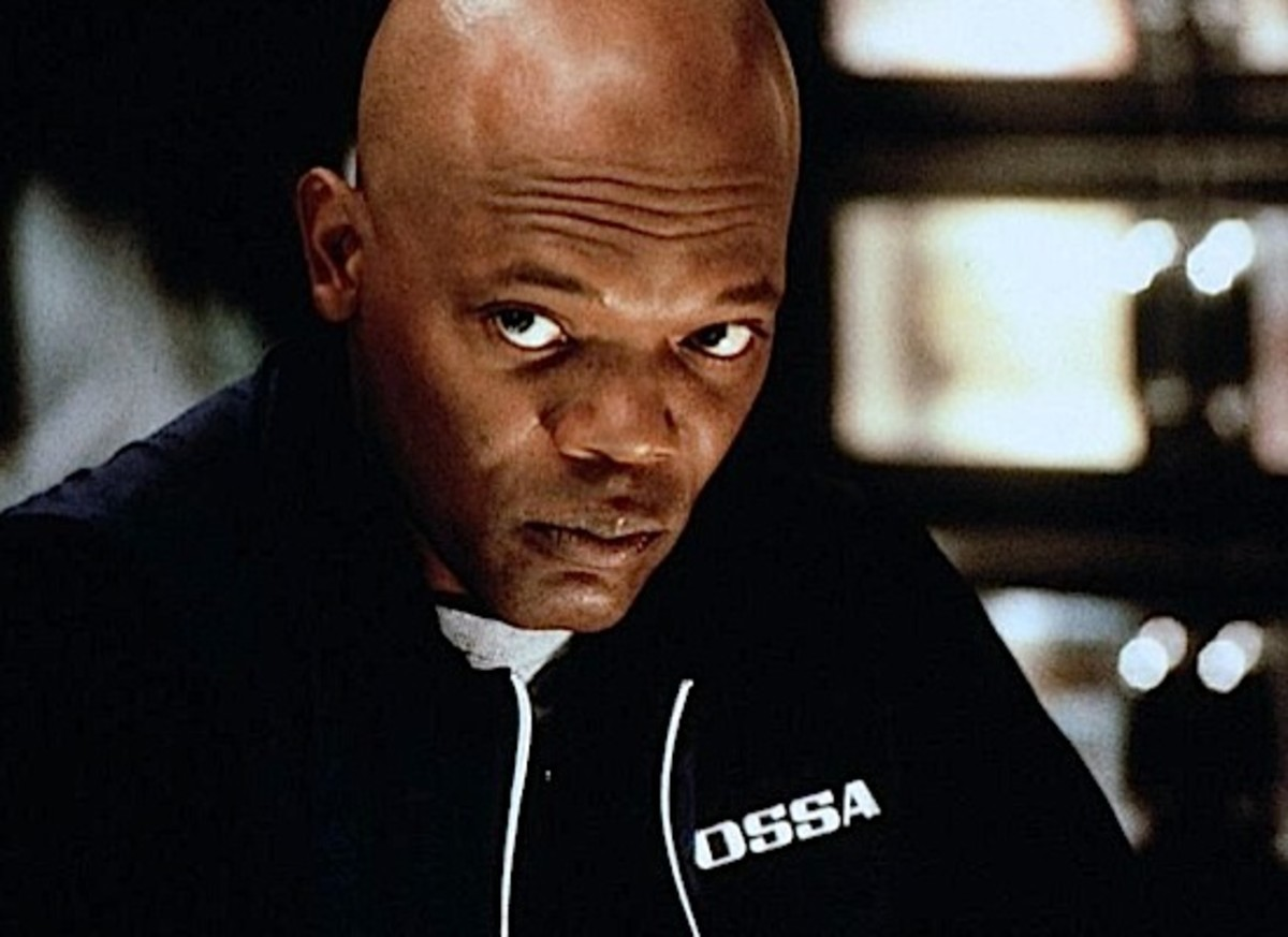 Samuel L. Jackson is Harry, the mathematician