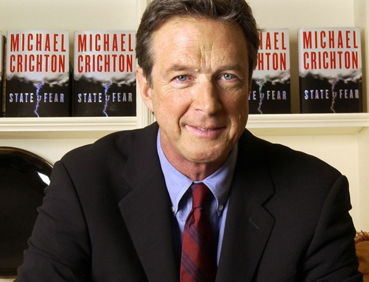 Author Michael Crichton (1942-2008)