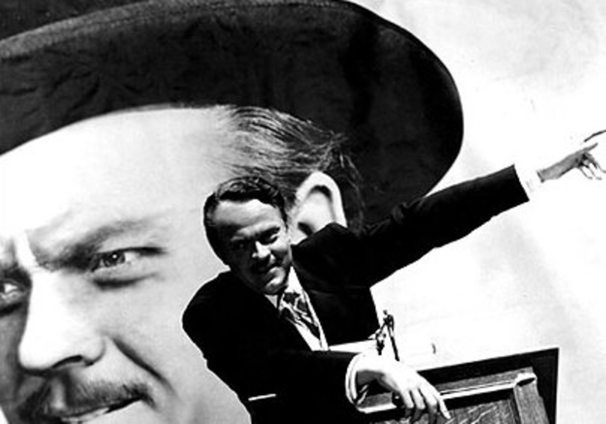 RKO promotional photo for Citizen Kane.