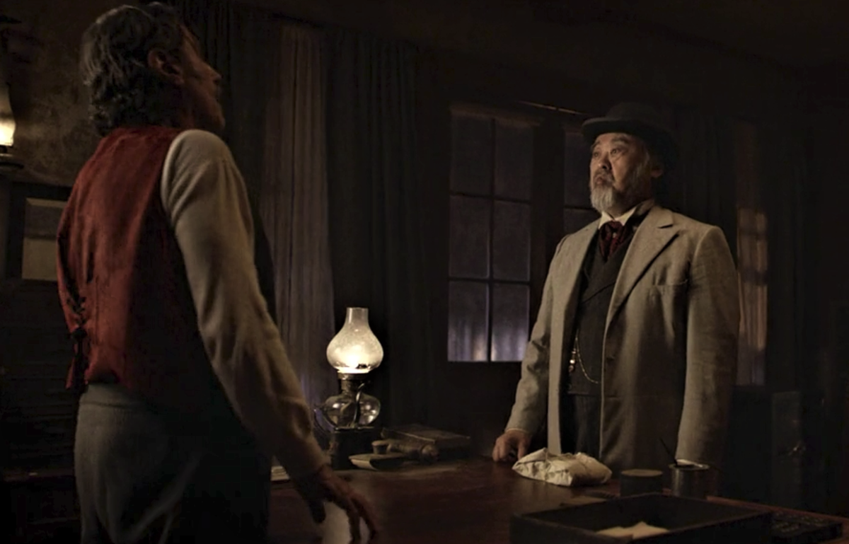 Wu and Swearengen's final pow wow in Deadwood