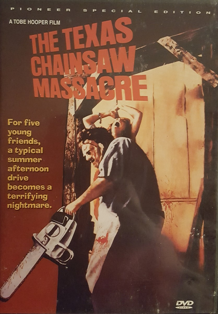This is my personal copy of 'The Texas Chain Saw Massacre'. The Pioneer Special Edition.