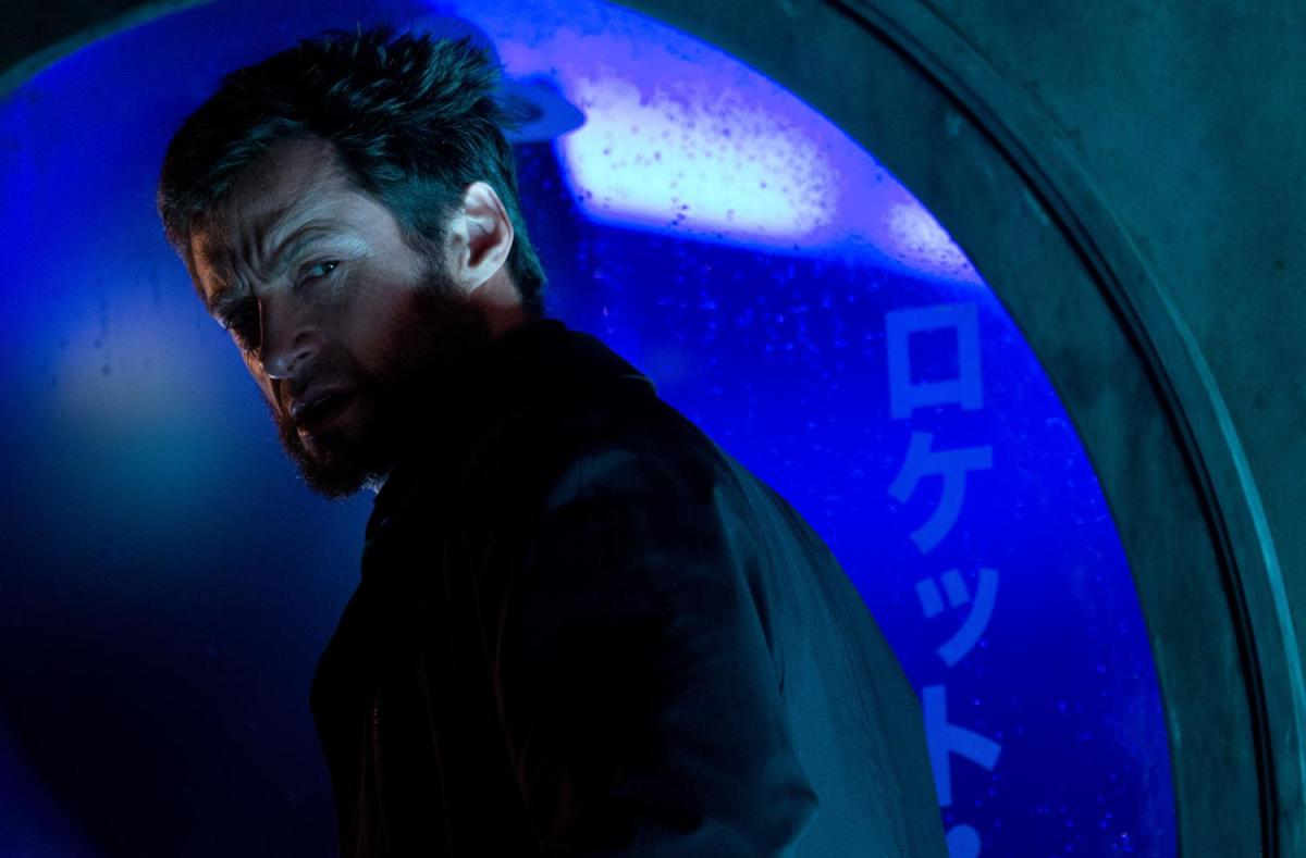 "Hugh Jackman as Wolverine/Logan in ""The Wolverine."""