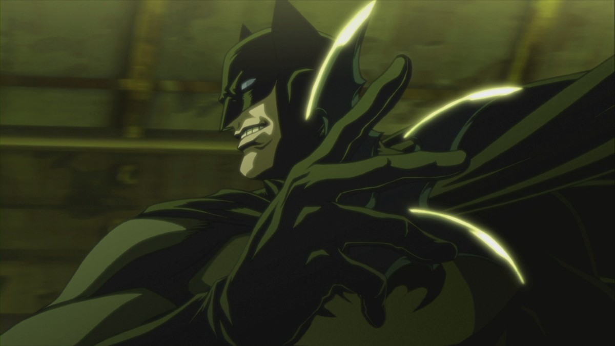 "A production still from, ""Batman: Gotham Knight."""