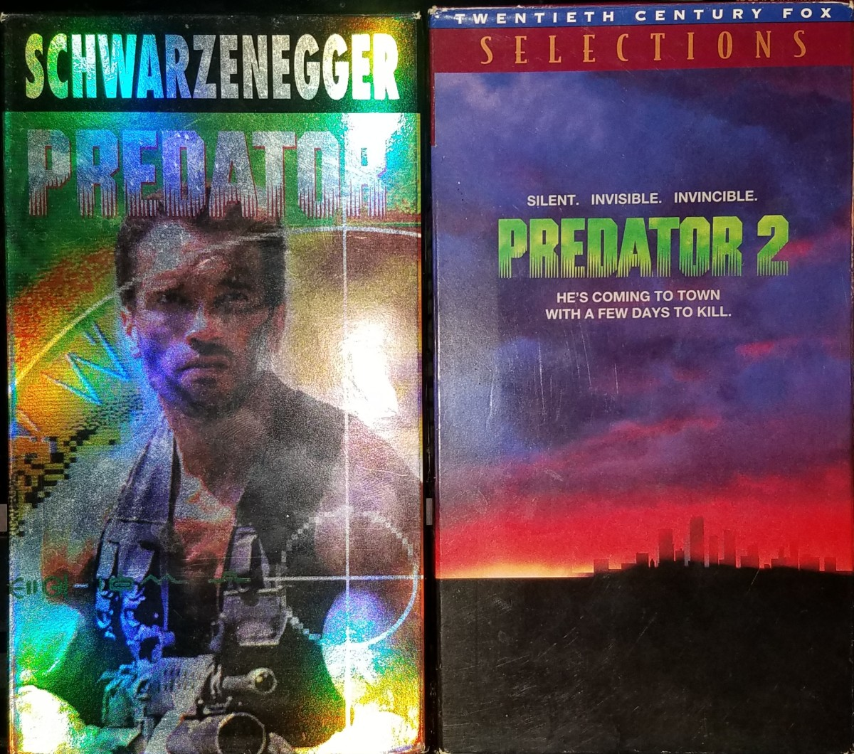 My personal VHS tapes of the first two films.