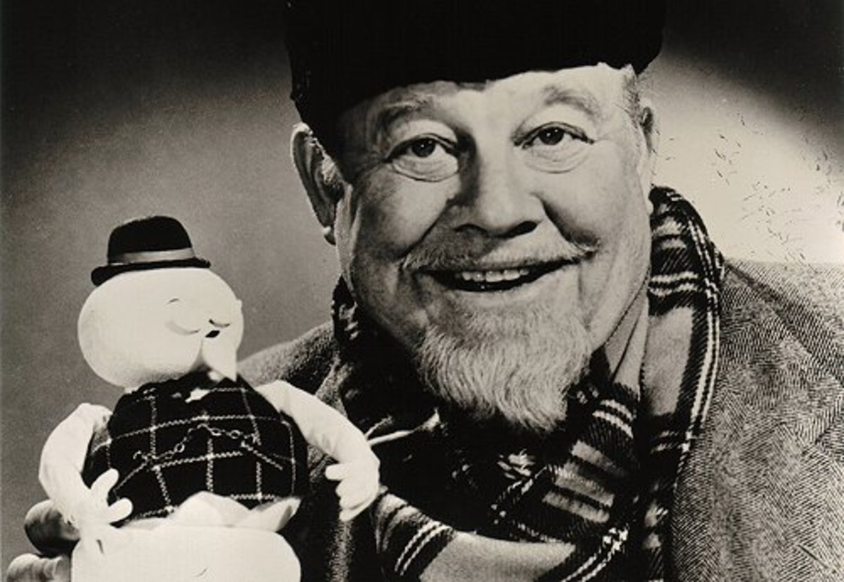 Burl Ives voiced the special's narrator, Sam the Snowman