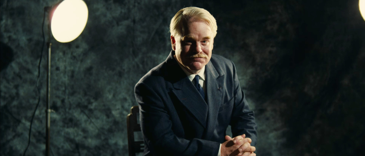 Philip Seymour Hoffman as 'Lancaster Dodd'