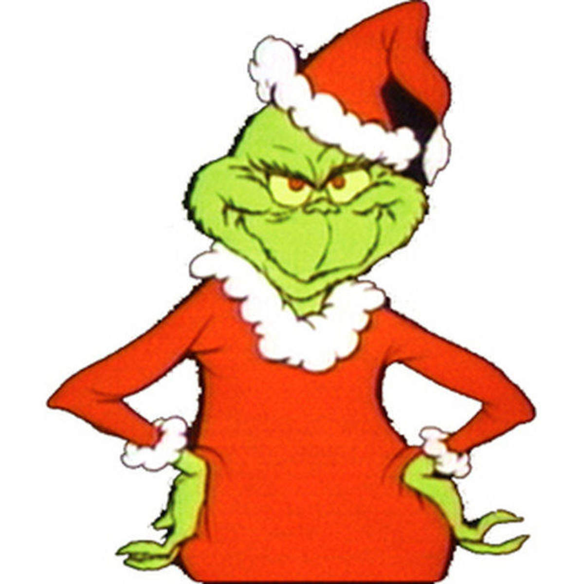 Chuck Jones modeled the TV Grinch after himself