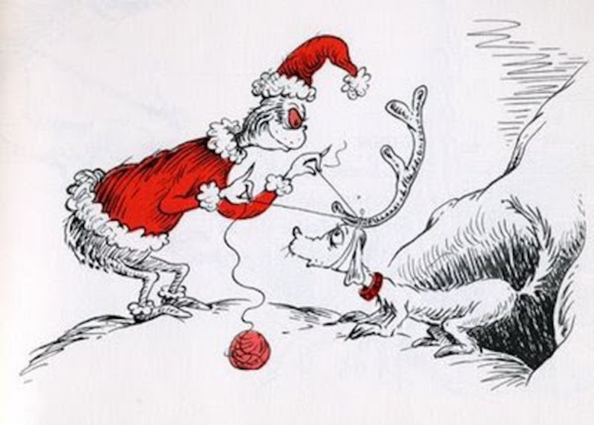 How The Grinch Stole Christmas Book Illustrations.How The Grinch Stole Christmas The Dr Seuss Classic Comes