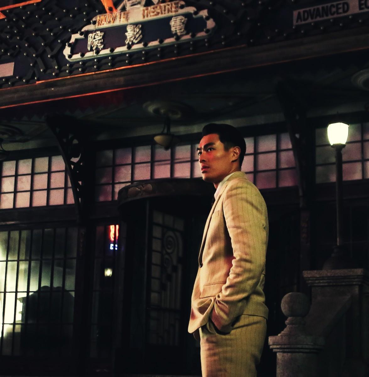 "Tony Yang as Gu Wei Bang in ""Phantom of the Theatre."""