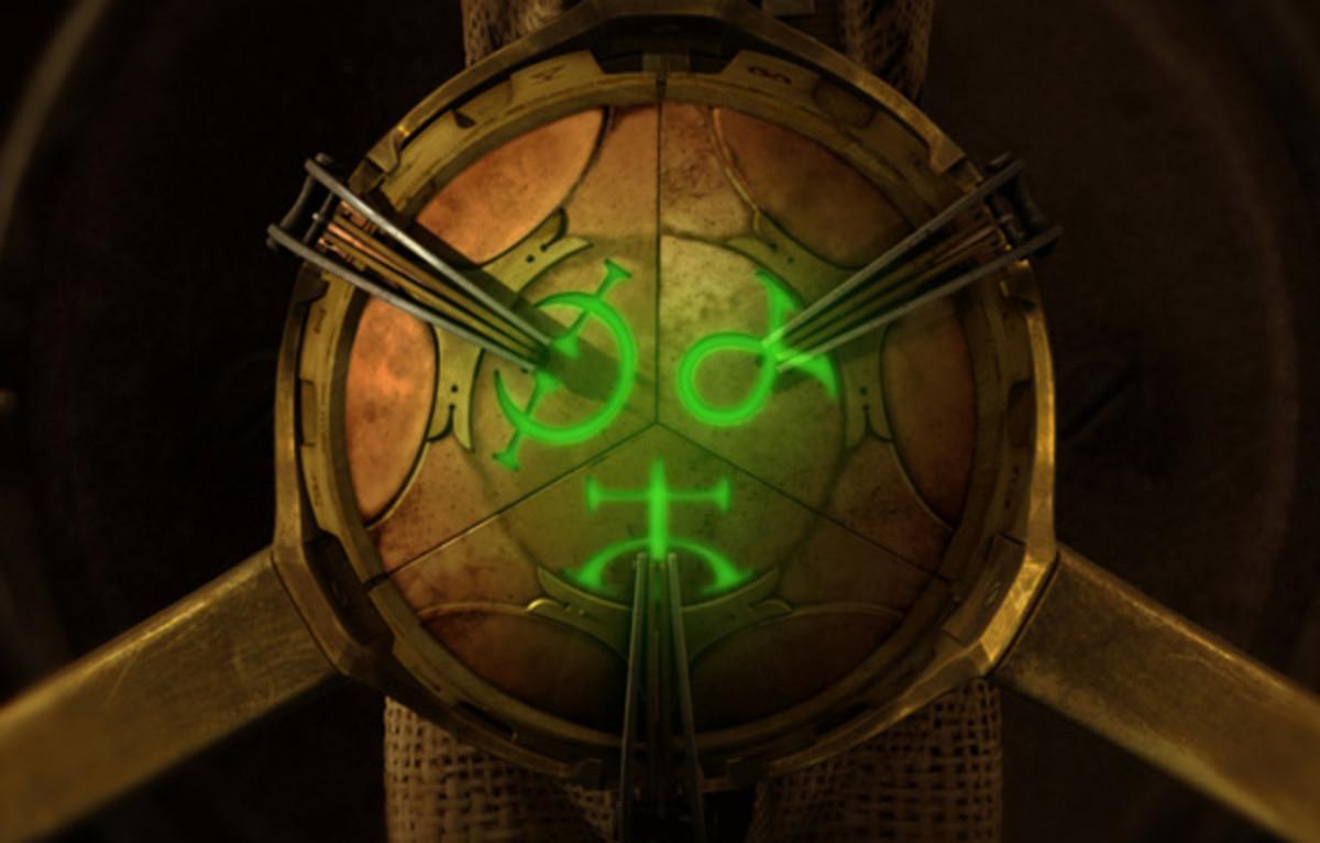 The talisman aka the Source.