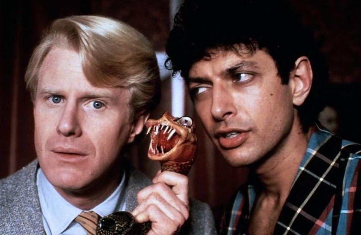 Jeff Goldblum and Ed Begley Jr.