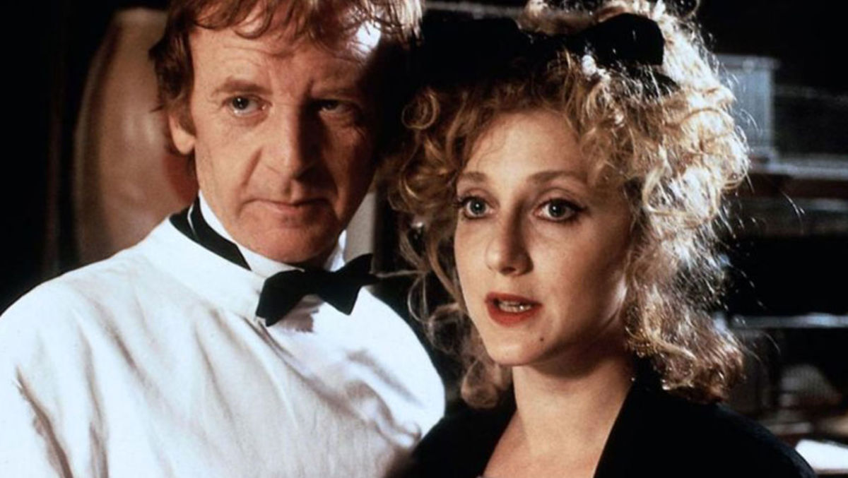 John Byner and Carol Kane
