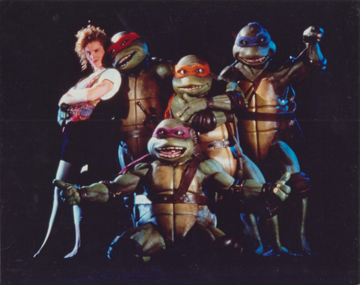 My Ninja Turtles.