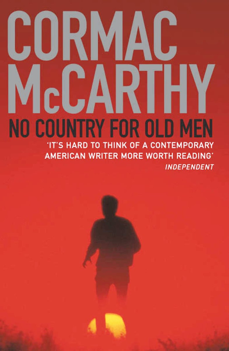 The cover to Cormac McCarthy's novel